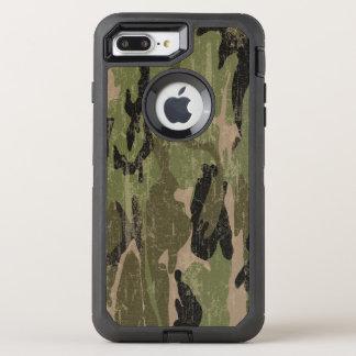 Faded Green Camo OtterBox Defender iPhone 8 Plus/7 Plus Case