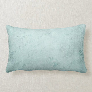 Faded Green Pattern with Handwriting Texture Throw Pillow