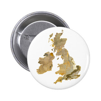 Faded Isles 2 Inch Round Button