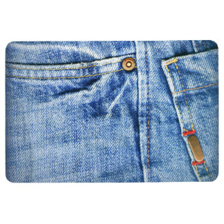 FADED JEANS FLOOR MAT