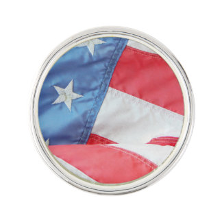 Faded Old Glory Lapel Pin