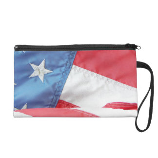 Faded Old Glory Wristlets
