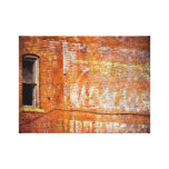 Faded Paint, Ghost Sign Stretched Canvas Prints