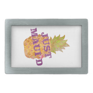 Faded Pineapple Belt Buckle