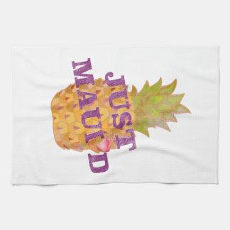 Faded Pineapple Hand Towel