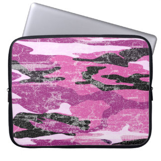 Faded Pink Camo Laptop Sleeve