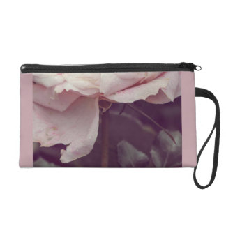 Faded pink rose wristlets