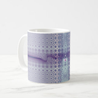 Faded Purple Fractal Coffee Mug