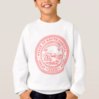 Faded Red South Dakota Sweatshirt