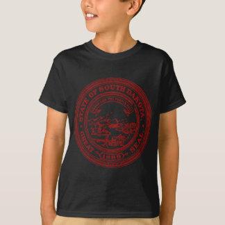 Faded Red South Dakota T-Shirt