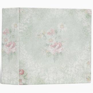 Faded Roses Shabby Vintage Design Binder