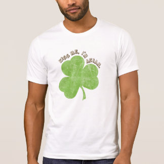Faded Shamrock, Kiss Me I'm Asian T-Shirt