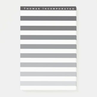 Faded Stripes company Post-it Notes