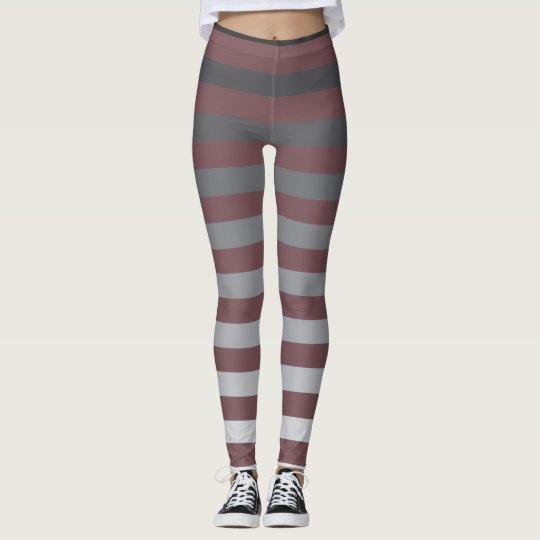 Faded Stripes Leggings. Leggings