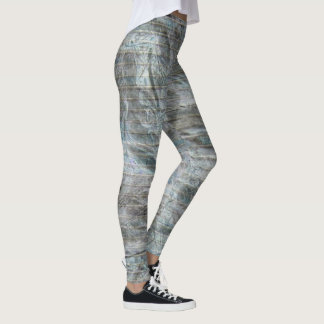 FADED TEXTURED WRAP  by Slipperywindow Leggings