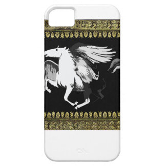 faded white hourse iPhone 5 covers