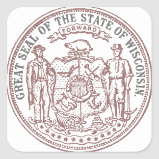 Faded Wisconsin Seal