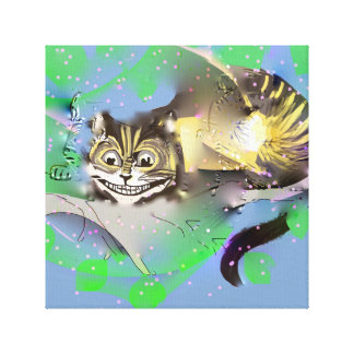 Fading Cheshire Cat Canvas Print