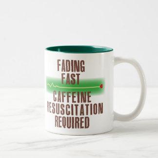 Fading Fast Two-Tone Mug