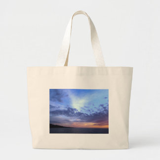 Fading into Dusk Large Tote Bag