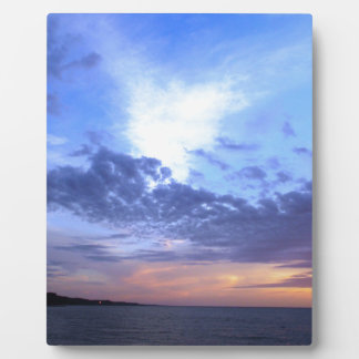 Fading into Dusk Plaque