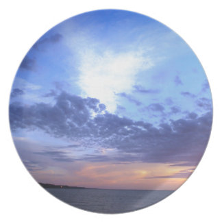 Fading into Dusk Plate