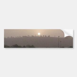 Fading Sun Bumper Sticker