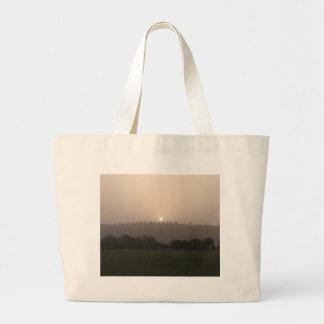 Fading Sun Large Tote Bag