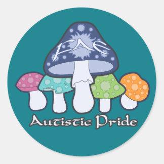 FAE - Autistic Pride Round Sticker