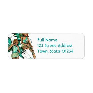 Fae Pair Mailing Labels