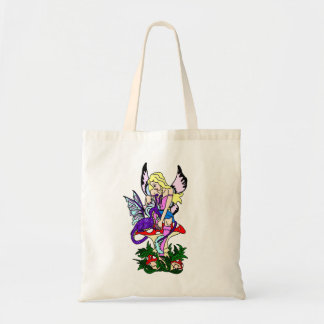 Faerie and Dragon Budget Tote Bag