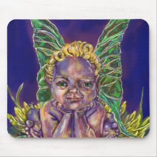 Faerie Baby Leon Mouse Pad