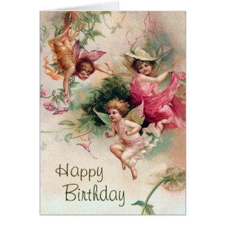 Faerie Birthday Card