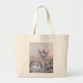 FAERIE BUBBLES by SHARON SHARPE Jumbo Tote Bag