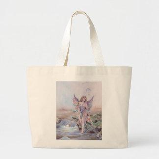 FAERIE BUBBLES by SHARON SHARPE Jumbo Tote Bag