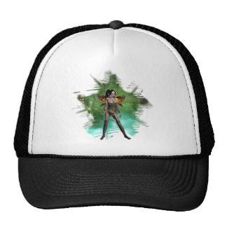 Faerie  ~  Earth Mesh Hat