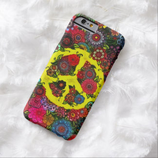 Faerie Flowers Peace Sign Art iPhone 6 Case Barely There iPhone 6 Case