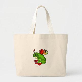 Faerie Frog Jumbo Tote Bag