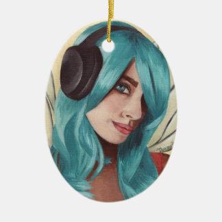Faerie Funk Ornament Fairy Ornament