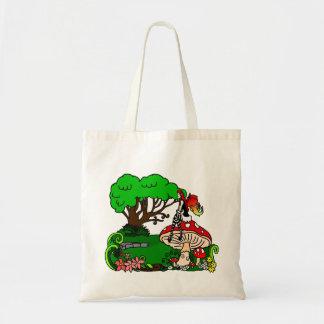 Faerie Garden Budget Tote Bag