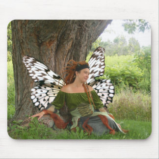Faerie Girl Mouse Pad