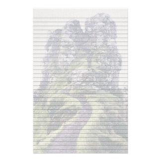 Faerie Glen Castle Optional Lines Paper Custom Stationery