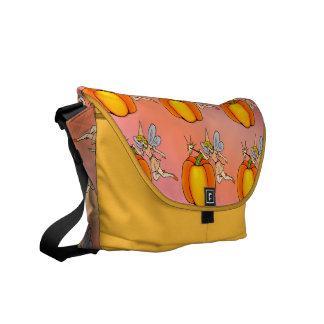 Faerie Godmother Messenger Bags