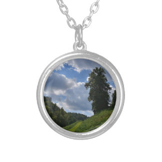 Faerie Hill Silver Plated Necklace