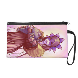 Faerie Hugs: Queen Bee Wristlet Purse