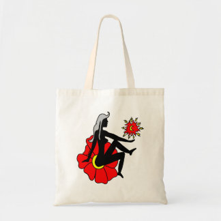 Faerie in a Flower Budget Tote Bag