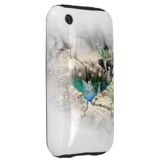 Faerie in Elven Pond Vignette iPhone 3 Tough Cases