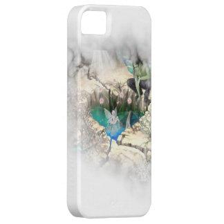 Faerie in Elven Pond Vignette iPhone 5 Case