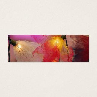 Faerie Lights - Skinny Mini Business Card