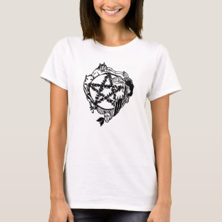 Faerie Pentacle Ladies Shirt